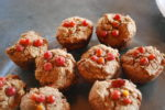 Manzanita Muffins with Wild Currants